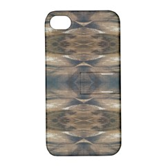 Wildlife Wild Animal Skin Art Brown Black Apple Iphone 4/4s Hardshell Case With Stand by yoursparklingshop
