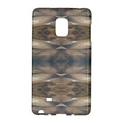 Wildlife Wild Animal Skin Art Brown Black Samsung Galaxy Note Edge Hardshell Case by yoursparklingshop