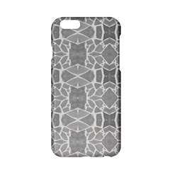 Grey White Tiles Geometry Stone Mosaic Pattern Apple Iphone 6 Hardshell Case by yoursparklingshop