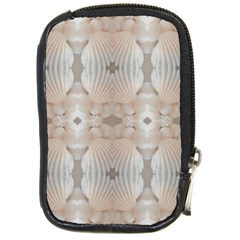 Seashells Summer Beach Love Romanticwedding  Compact Camera Leather Case by yoursparklingshop