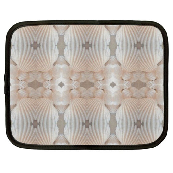 Seashells Summer Beach Love RomanticWedding  Netbook Sleeve (XXL)