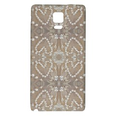 Love Hearts Beach Seashells Shells Sand  Samsung Note 4 Hardshell Back Case by yoursparklingshop