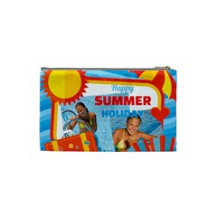 Summer By Summer Time    Cosmetic Bag (xs)   Tvnzsihfo9hp   Www Artscow Com Back