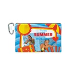 summer - Canvas Cosmetic Bag (Small)