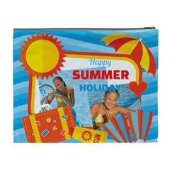 Summer By Summer Time    Cosmetic Bag (xl)   7t6fzfpey5nc   Www Artscow Com Back
