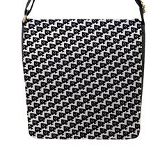Hot Wife   Queen Of Spades Motif Flap Closure Messenger Bag (large) by HotWifeSecrets