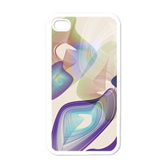 Abstract Apple Iphone 4 Case (white) by infloence