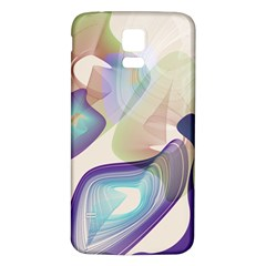 Abstract Samsung Galaxy S5 Back Case (White) by infloence