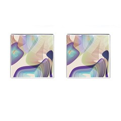 Abstract Cufflinks (square) by infloence