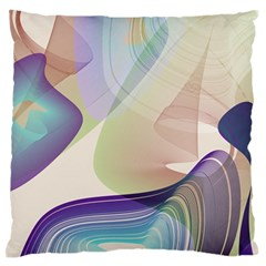 Abstract Large Flano Cushion Case (two Sides) by infloence