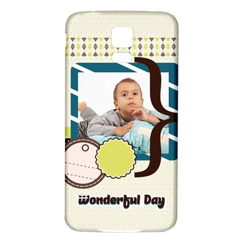 Kids By Kids   Samsung Galaxy S5 Back Case (white)   Wjf7qr5jv6a5   Www Artscow Com Front