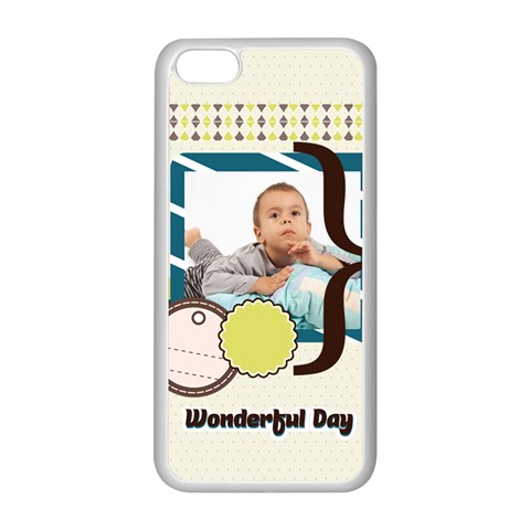 Kids By Kids   Apple Iphone 5c Seamless Case (white)   Dx9gzjsytj0t   Www Artscow Com Front