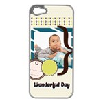 kids - Apple iPhone 5 Case (Silver)