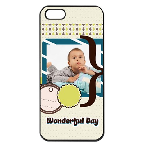 Kids By Kids   Apple Iphone 5 Seamless Case (black)   0g2cw9n440m7   Www Artscow Com Front