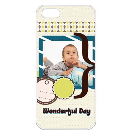 Kids By Kids   Apple Iphone 5 Seamless Case (white)   5ursw0kaw5ik   Www Artscow Com Front