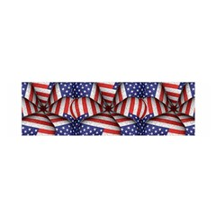 4th Of July Modern Pattern Print Satin Scarf (oblong) by dflcprintsclothing