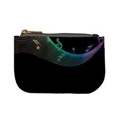 Musical Wave Coin Change Purse