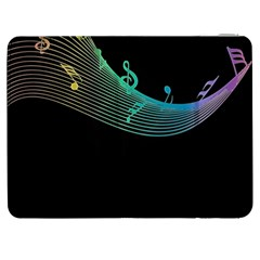 Musical Wave Samsung Galaxy Tab 7  P1000 Flip Case by urockshop