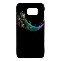 Musical Wave Samsung Galaxy S6 Hardshell Case