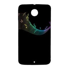 Musical Wave Google Nexus 6 Case (White) by urockshop