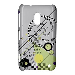 Abstract Geo Nokia Lumia 620 Hardshell Case by infloence