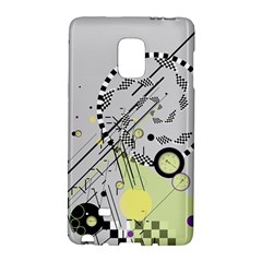 Abstract Geo Samsung Galaxy Note Edge Hardshell Case by infloence