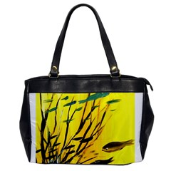 Yellow Dream Oversize Office Handbag (one Side) by pwpmall