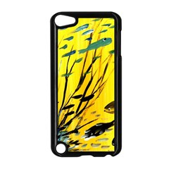 Yellow Dream Apple Ipod Touch 5 Case (black) by pwpmall