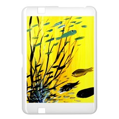 Yellow Dream Kindle Fire HD 8.9  Hardshell Case by pwpmall