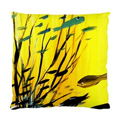 Yellow Dream Cushion Case (single Sided)  by pwpmall