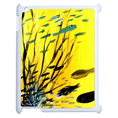 Yellow Dream Apple Ipad 2 Case (white) by pwpmall