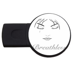 Breathless 1GB USB Flash Drive (Round) by morbidcandy