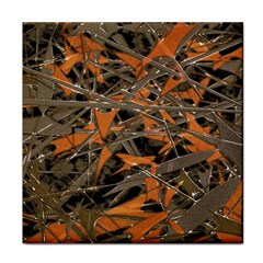 Intricate Abstract Print Ceramic Tile