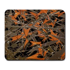 Intricate Abstract Print Large Mouse Pad (rectangle) by dflcprints