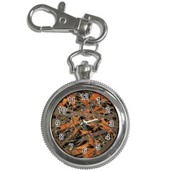 Intricate Abstract Print Key Chain Watch by dflcprints
