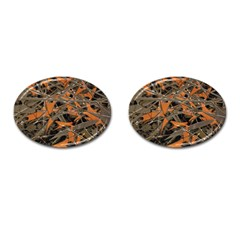 Intricate Abstract Print Cufflinks (oval) by dflcprints