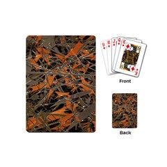 Intricate Abstract Print Playing Cards (mini) by dflcprints