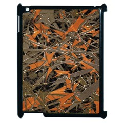 Intricate Abstract Print Apple Ipad 2 Case (black) by dflcprints