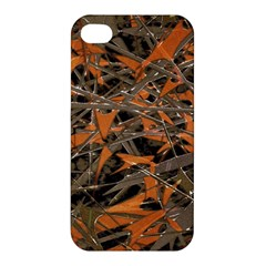 Intricate Abstract Print Apple Iphone 4/4s Hardshell Case by dflcprints