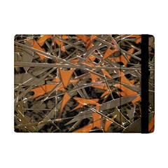 Intricate Abstract Print Apple Ipad Mini Flip Case by dflcprints
