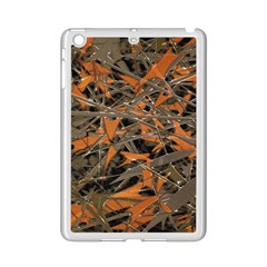 Intricate Abstract Print Apple Ipad Mini 2 Case (white) by dflcprints