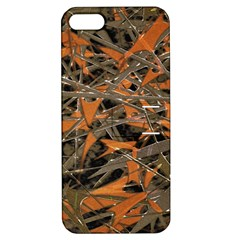 Intricate Abstract Print Apple Iphone 5 Hardshell Case With Stand by dflcprints