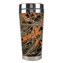 Intricate Abstract Print Stainless Steel Travel Tumbler by dflcprints