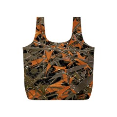 Intricate Abstract Print Reusable Bag (S) by dflcprints