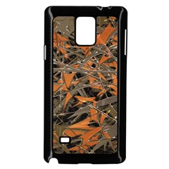 Intricate Abstract Print Samsung Galaxy Note 4 Case (black) by dflcprints