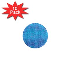 Textured Blue & Purple Abstract 1  Mini Button Magnet (10 Pack) by StuffOrSomething