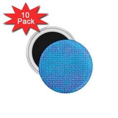 Textured Blue & Purple Abstract 1 75  Button Magnet (10 Pack) by StuffOrSomething