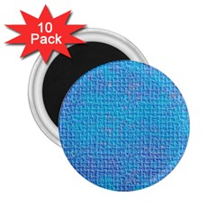 Textured Blue & Purple Abstract 2 25  Button Magnet (10 Pack) by StuffOrSomething