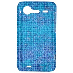 Textured Blue & Purple Abstract HTC Incredible S Hardshell Case  by StuffOrSomething