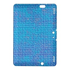Textured Blue & Purple Abstract Kindle Fire Hdx 8 9  Hardshell Case by StuffOrSomething